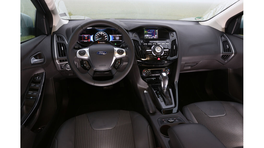 Ford Focus Electric, Cockpit