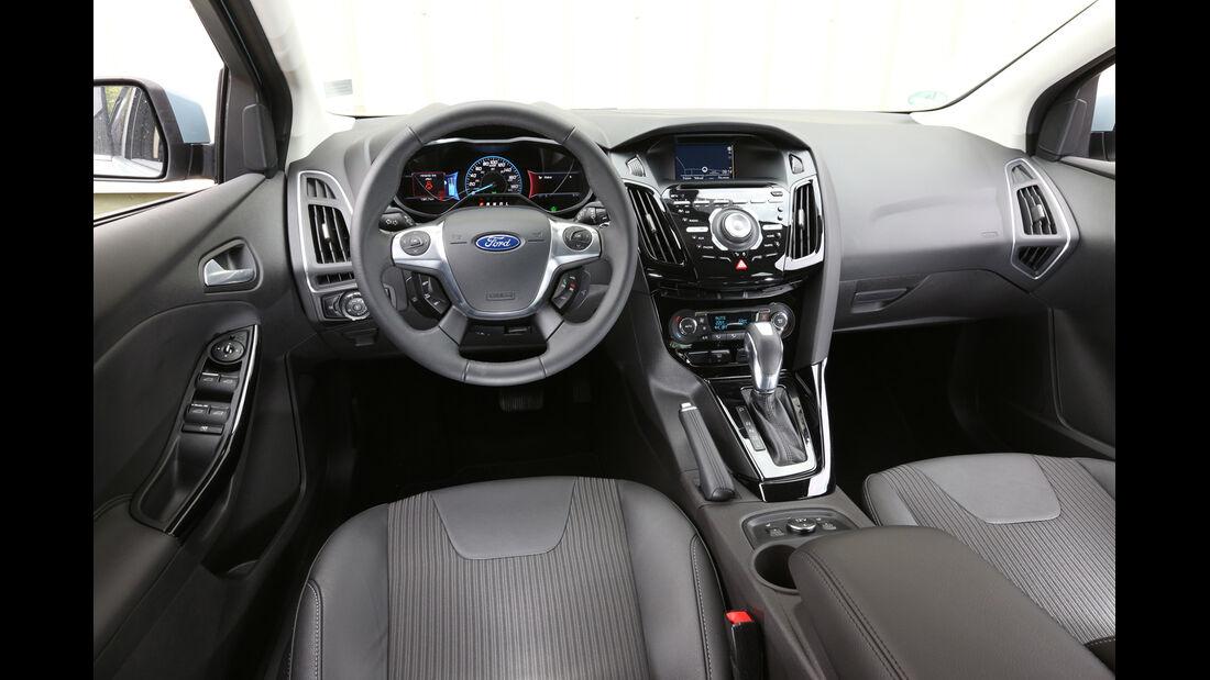 Ford Focus Electric, Cockpit, Lenkrad