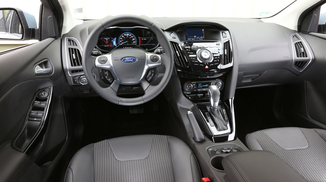 Ford Focus Electric, Cockpit, Lenkrad