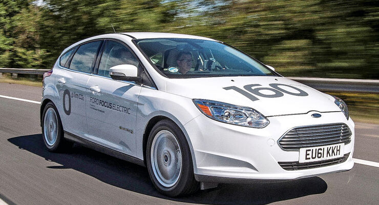 Ford Focus Electric, Frontansicht