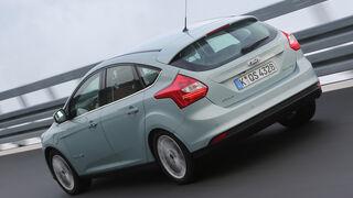 Ford Focus Electric, Heckansicht