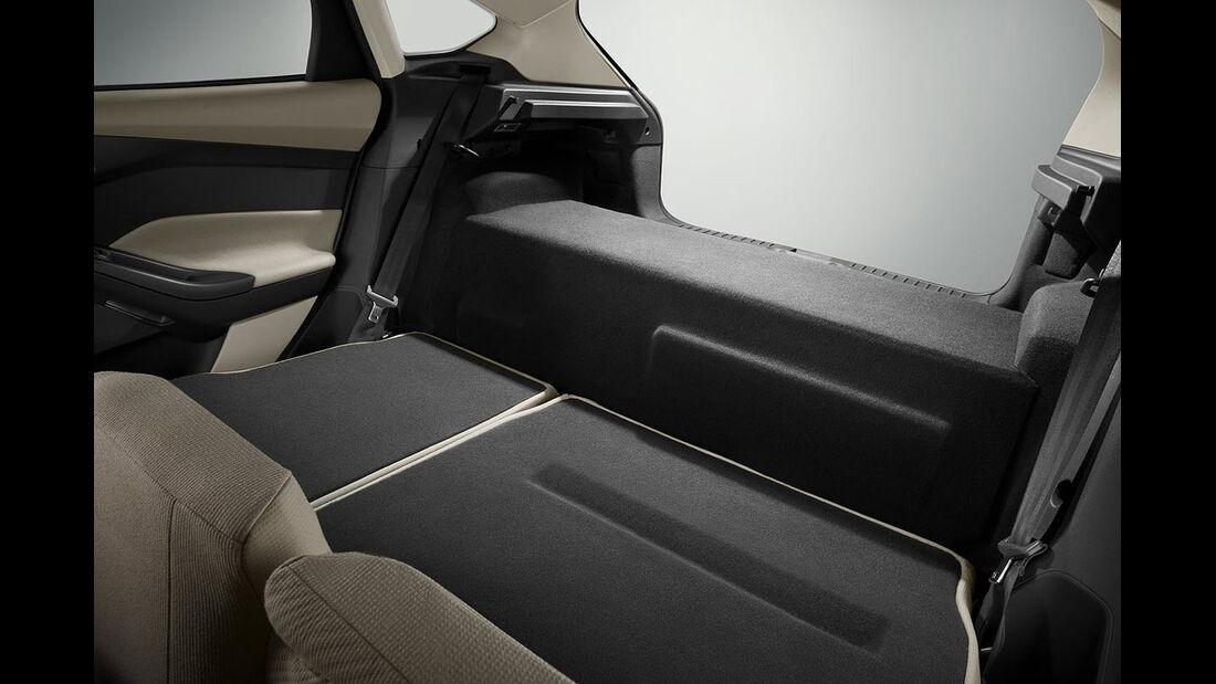 Ford Focus Electric, Kofferraum