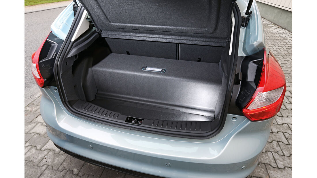 Ford Focus Electric, Kofferraum, Batterie