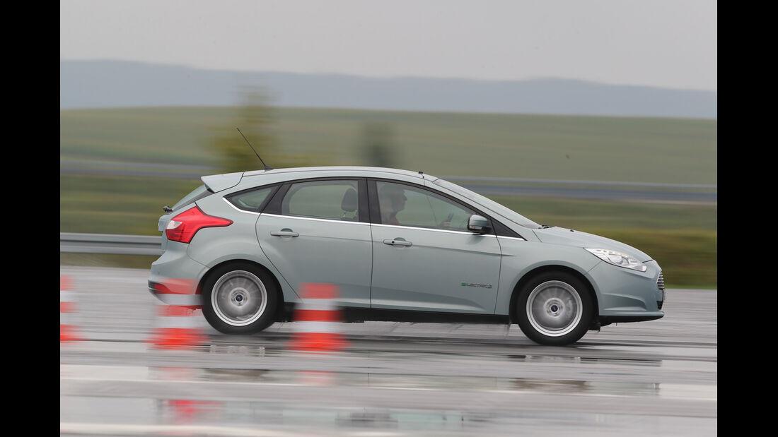 Ford Focus Electric, Seitenansicht