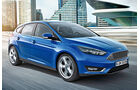 Ford Focus Facelift, Frontansicht