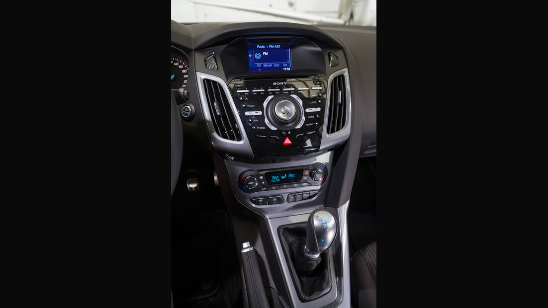 Ford Focus, Fahrersitz