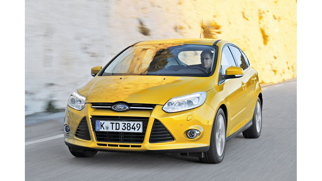 Ford Focus, Frontansicht