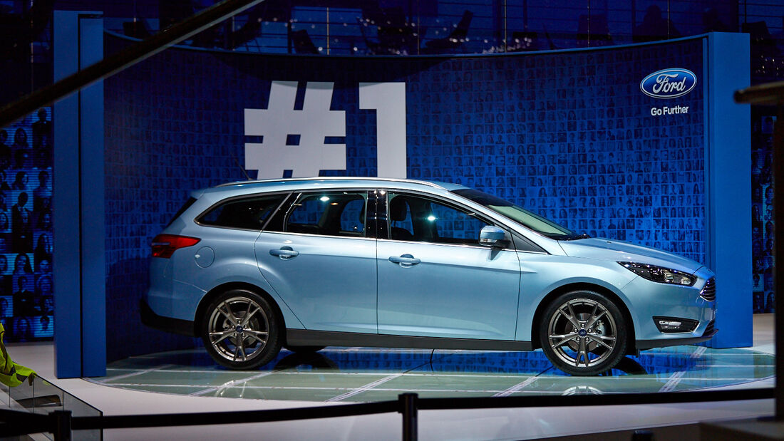 Ford Focus, Genfer Autosalon, Messe 2014
