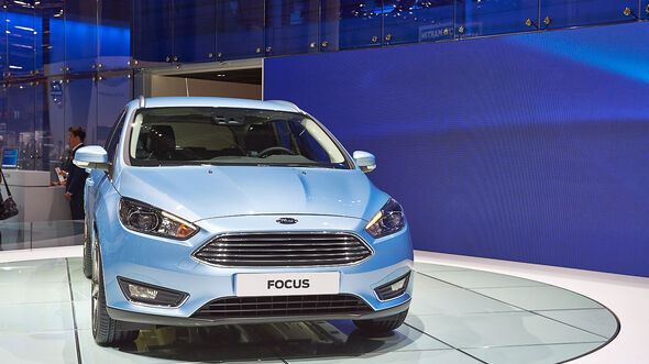 Ford Focus, Genfer Autosalon, Messe, 2014
