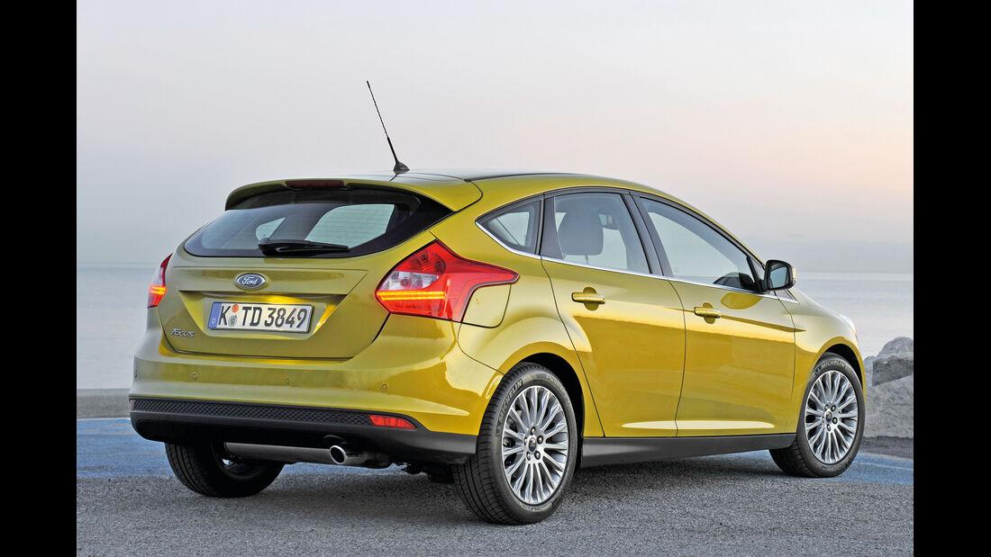 Ford Focus, Heckansicht