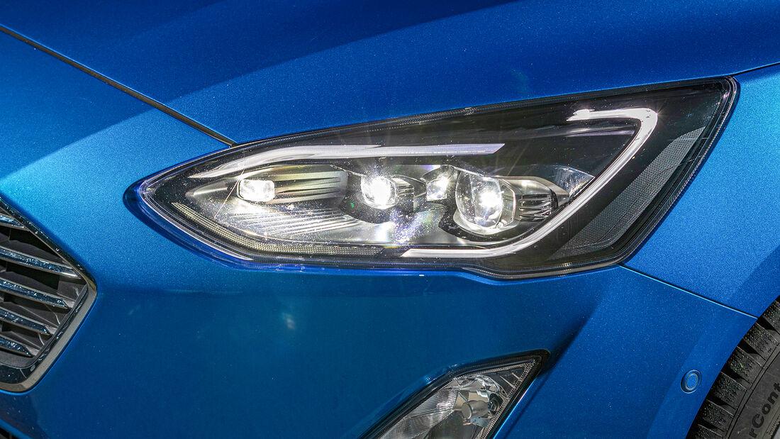 Ford Focus, Lichttest
