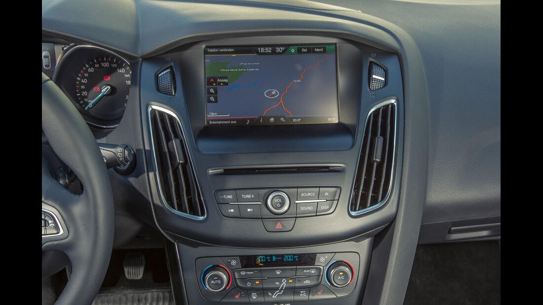 Ford Focus, Mittelkonsole