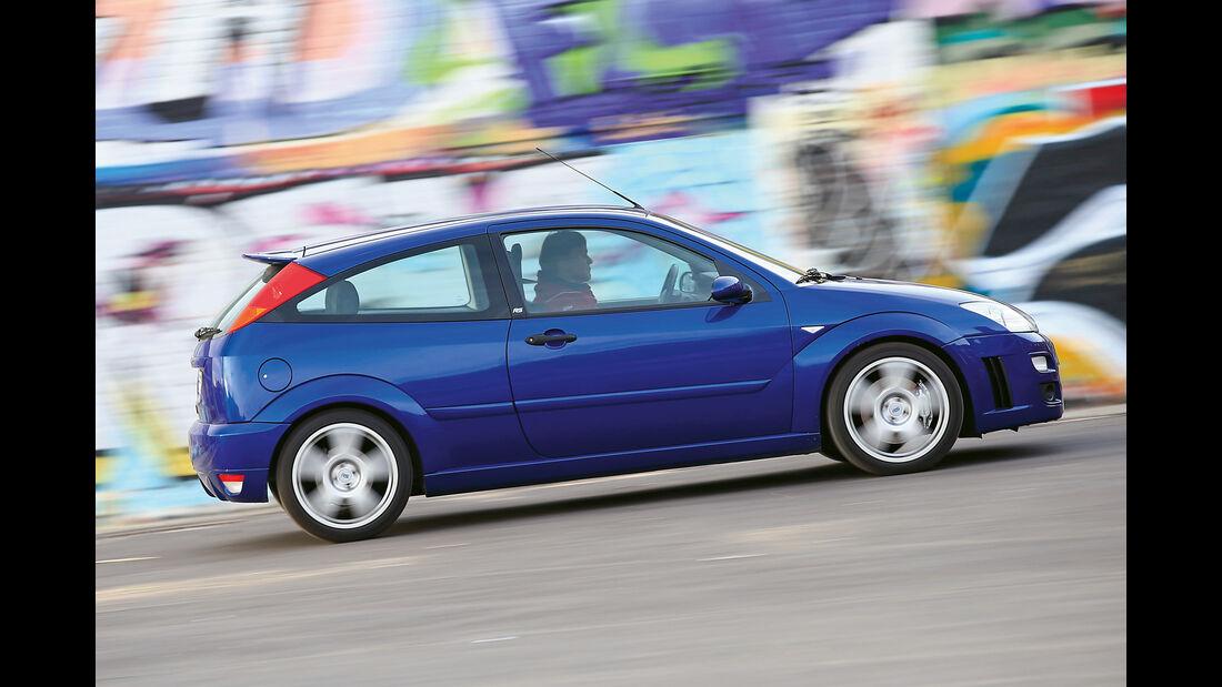 Ford Focus RS (2002), Seitenansicht