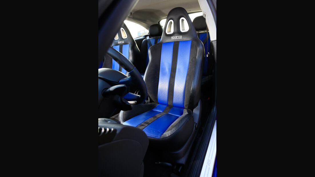 Ford Focus RS (2002), Sitze