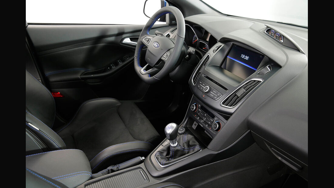 Ford Focus RS 2015, Cockpit, Innenraum