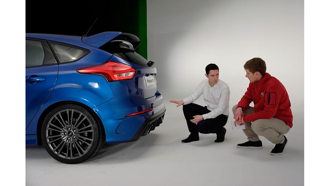 Ford Focus RS 2015, Heck, Diffusor