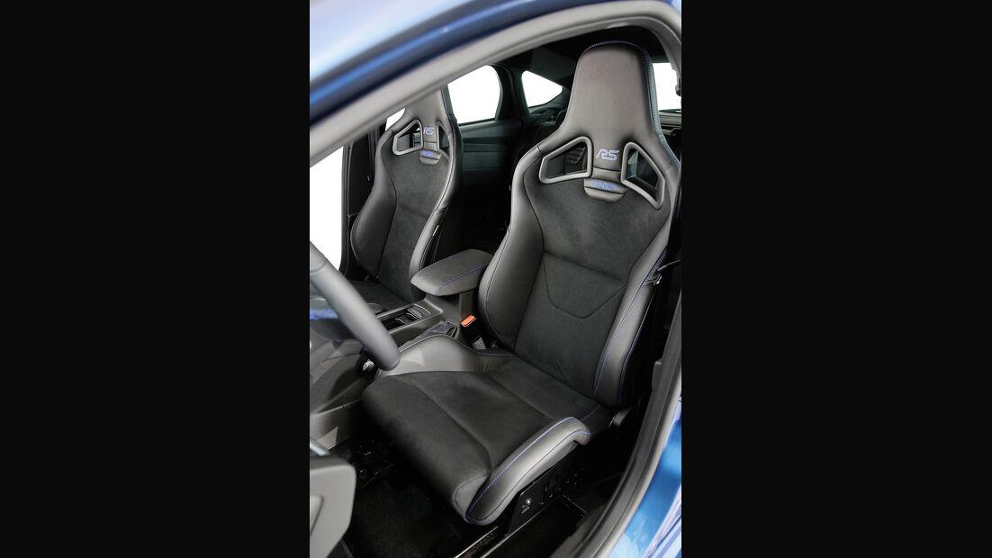 Ford Focus RS 2015, Innenraum, Sportsitze, Schalensitze, Recaro
