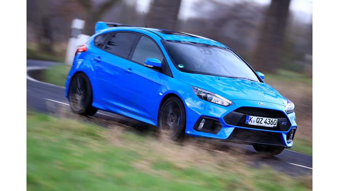 Ford Focus RS (2016), Frontansicht
