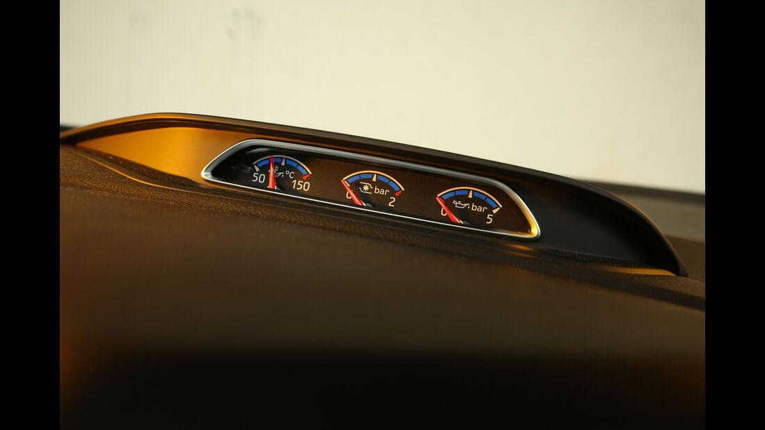 Ford Focus RS, Bedienelemente