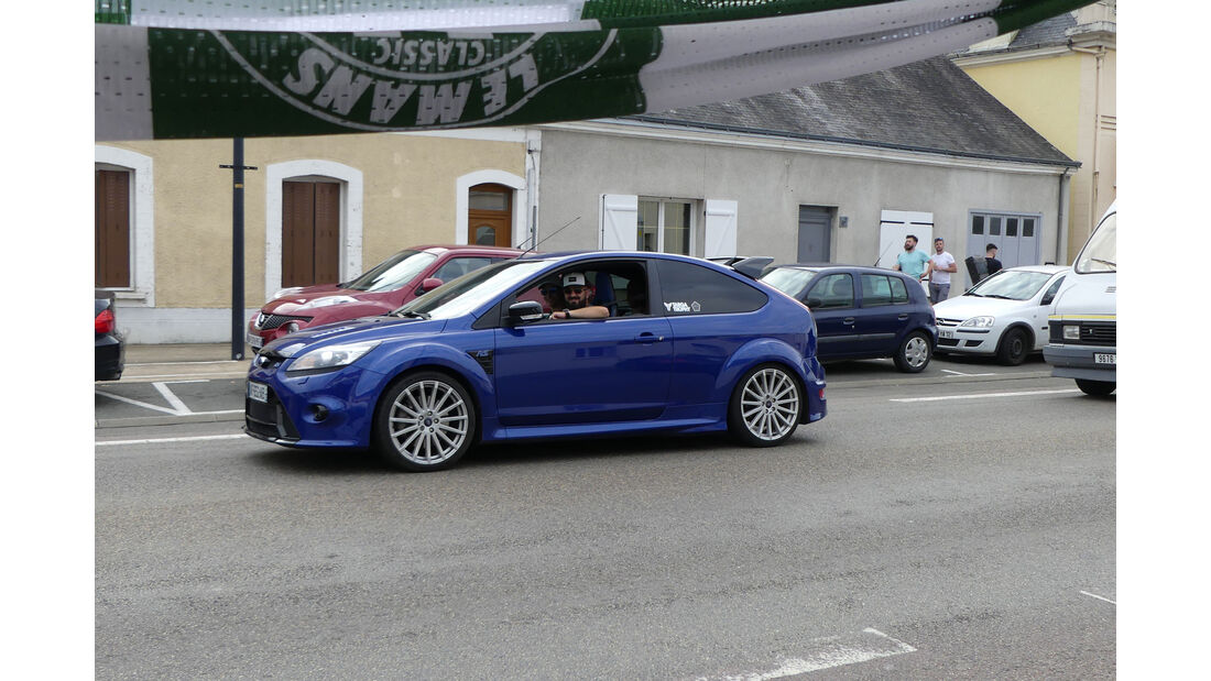 Ford Focus RS - Carspotting - 24h Le Mans 2018