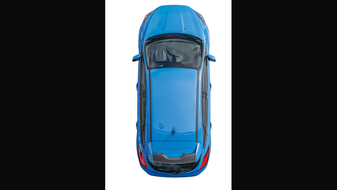 Ford Focus RS, Draufsicht