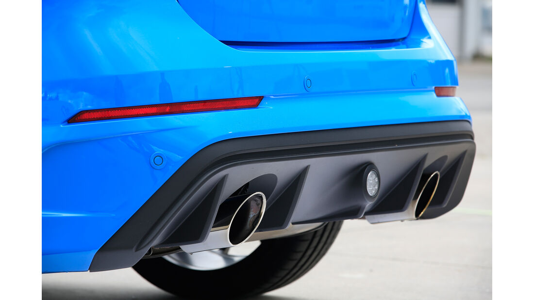 Ford Focus RS, Endrohre