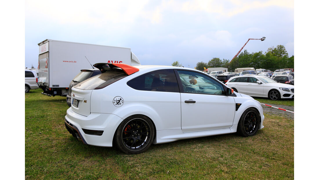 Ford Focus RS - Fan-Autos - 24h-Rennen Nürburgring 2018 - Nordschleife