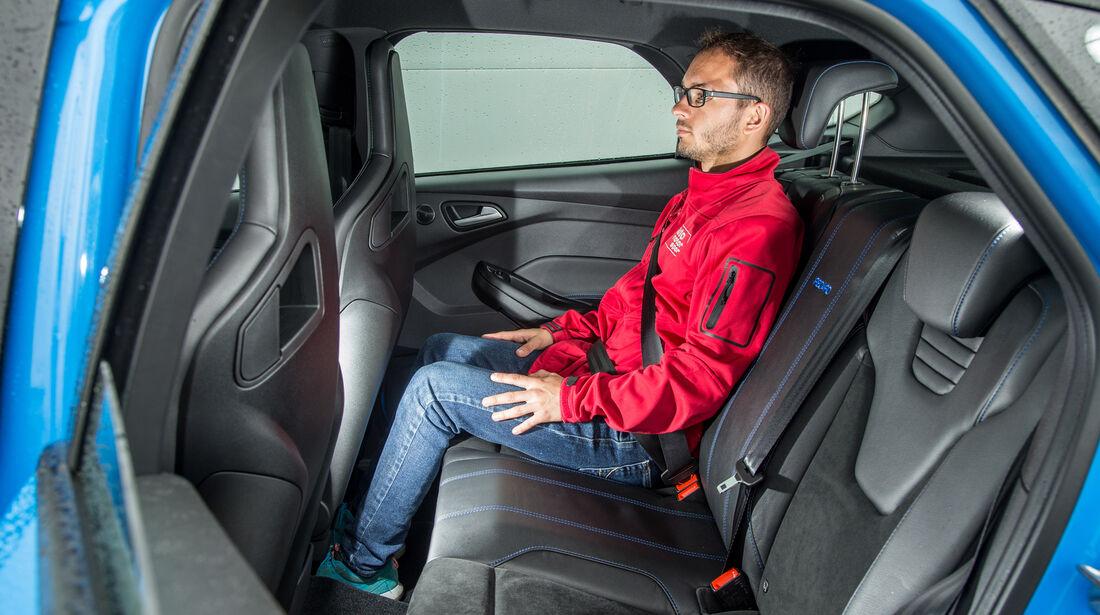 Ford Focus RS, Fondsitz