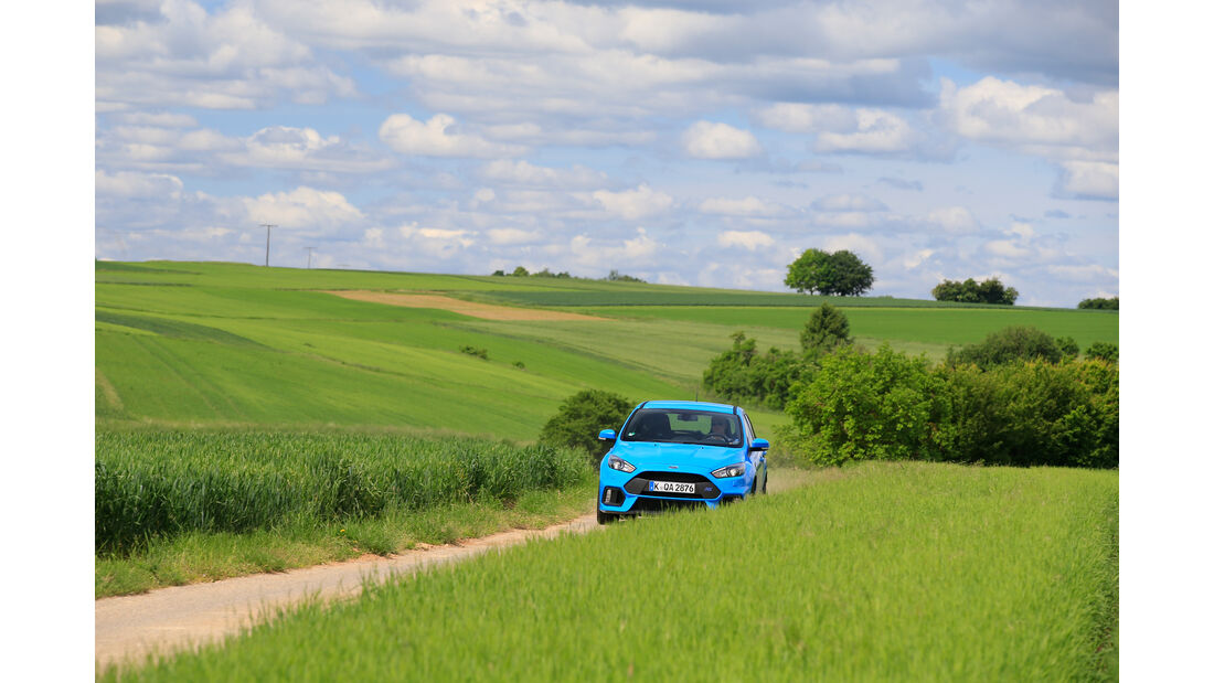 Ford Focus RS, Frontansicht