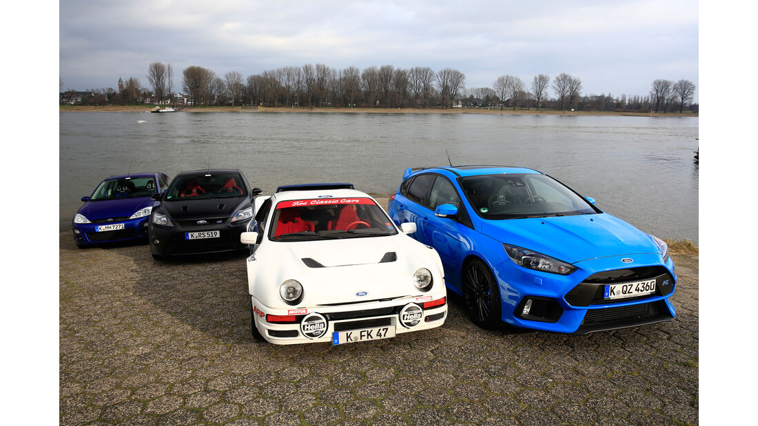 Ford Focus RS, Generationen