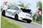 Ford Focus RS, Heckansicht