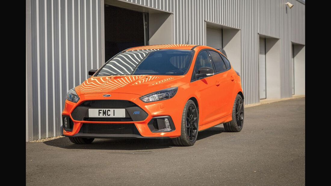 Ford Focus RS Heritage Edition - Kompaktsportwagen