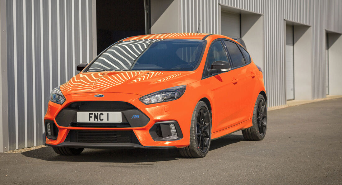 Ford Focus RS Heritage Edition - Kompaktsportwagen