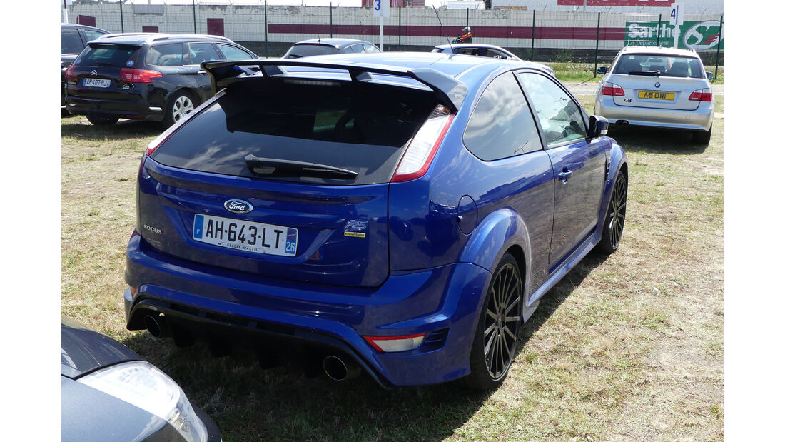 Ford Focus RS Mountune - Carspotting - 24h Le Mans 2018