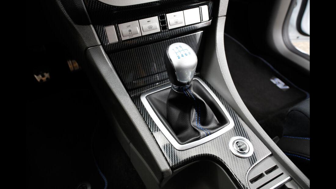 Ford Focus RS, Schalthebel