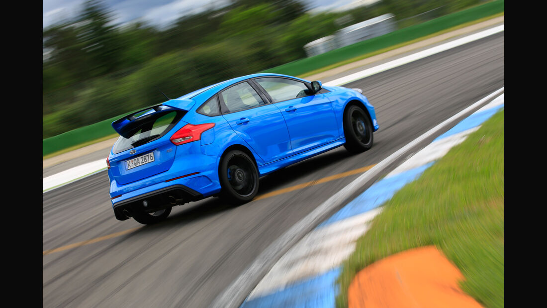 Ford Focus RS, Seitenansicht