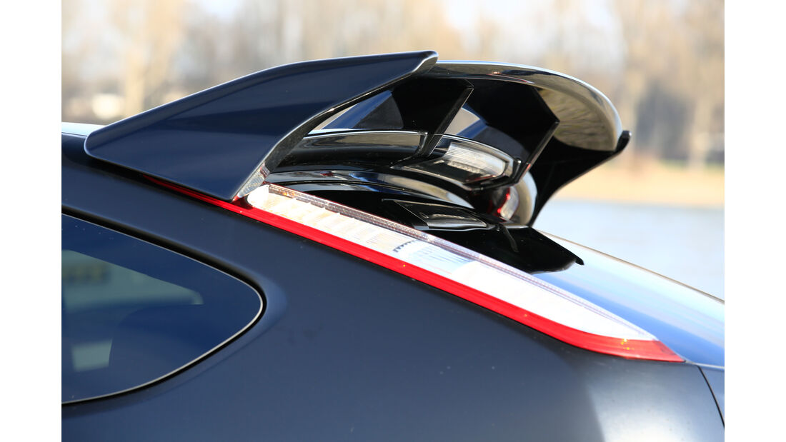 Ford Focus RS500, Dachspoiler