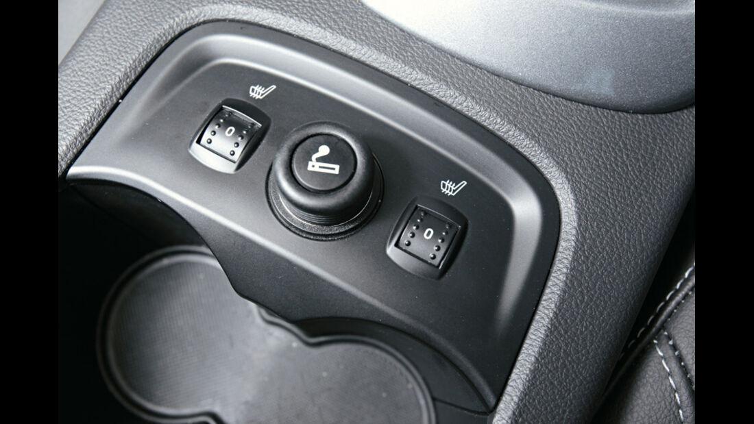 Ford Focus, Regler, Sitzheizung
