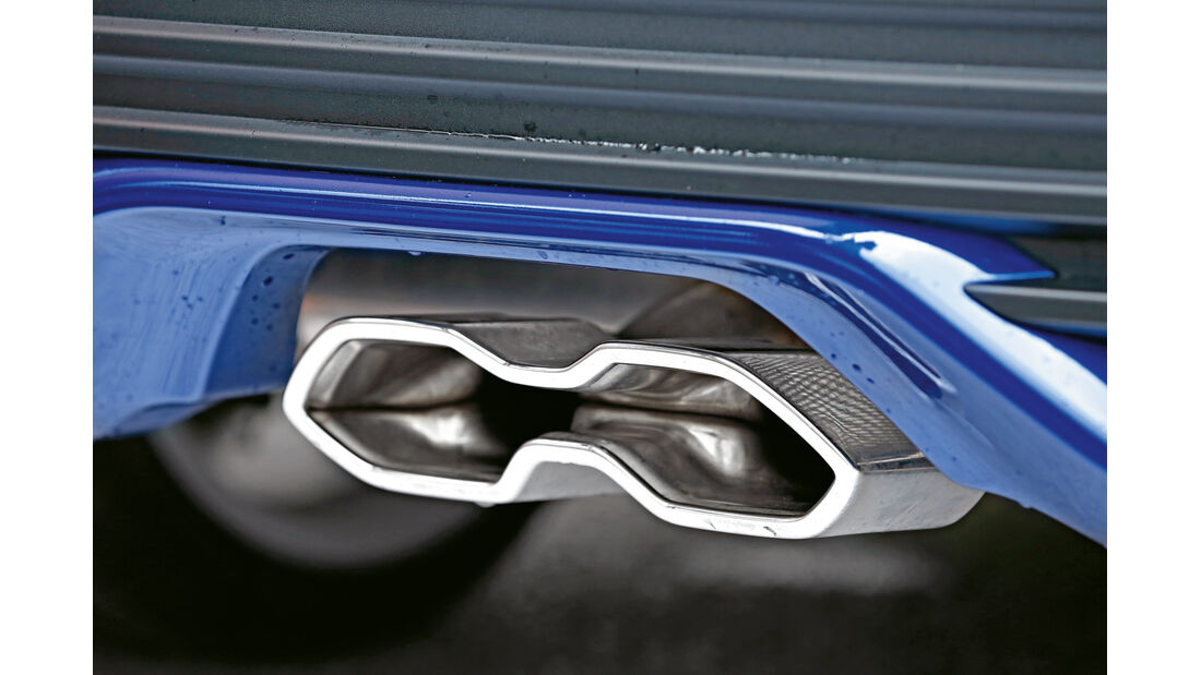 Ford Focus ST 2.0 TDCi, Auspuff, Endrohr
