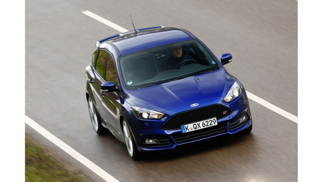 Ford Focus ST 2.0 TDCi, Frontansicht