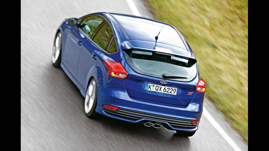 Ford Focus ST 2.0 TDCi, Heckansicht