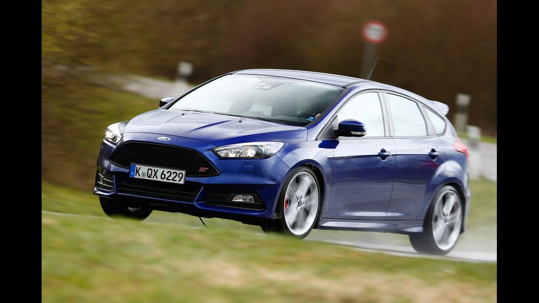 Ford Focus ST 2.0 TDCi, Seitenansicht