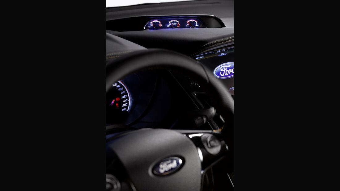 Ford Focus ST 2011, Innenraum, Cockpit