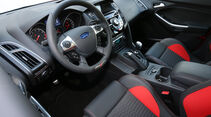 Ford Focus ST, Cockpit, Fahrersitz