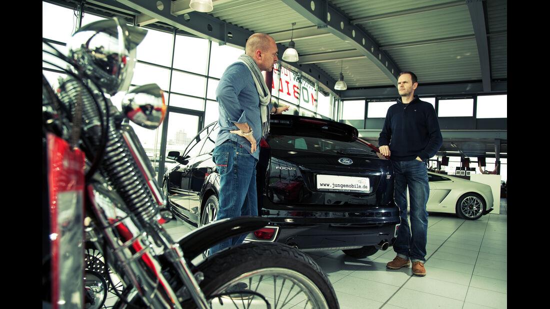 Ford Focus ST, Heckansicht, Händler