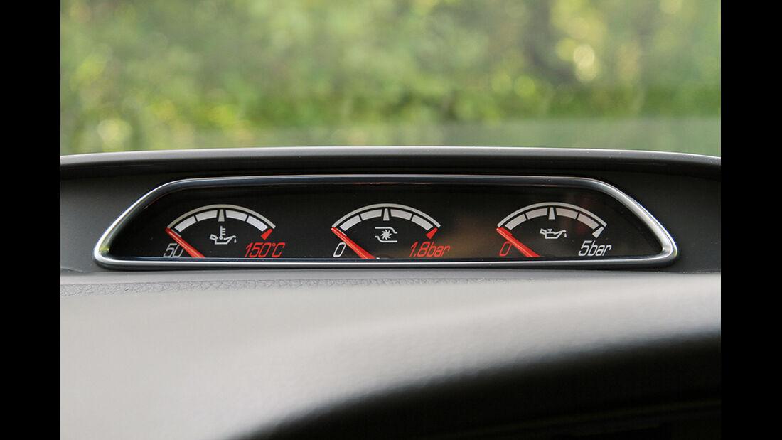 Ford Focus ST, Luftdruck