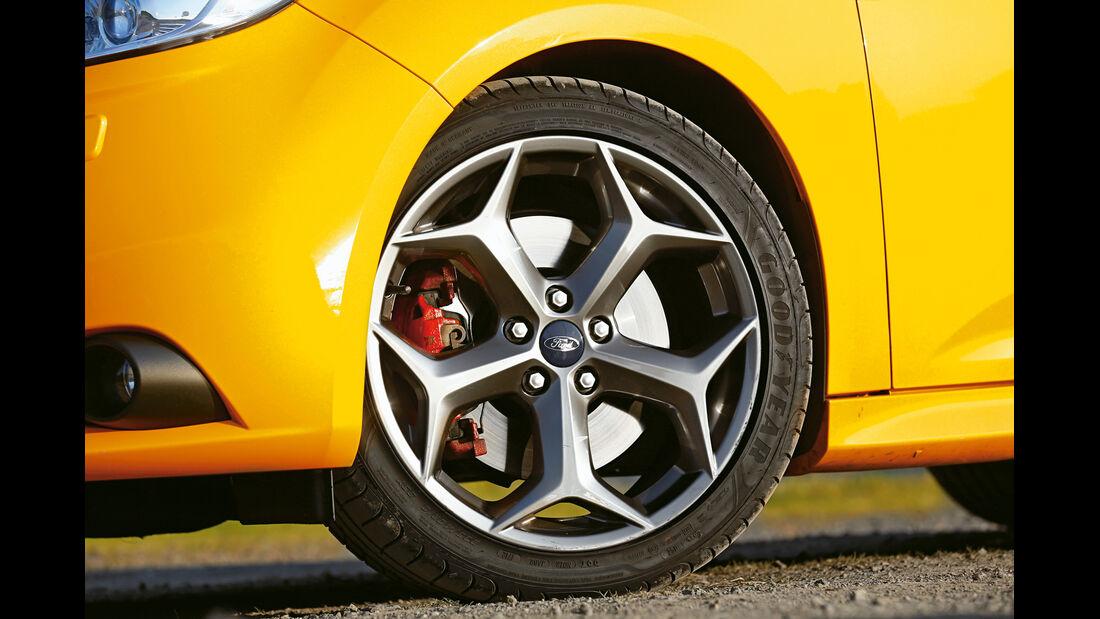 Ford Focus ST, Rad, Felge, Bremse