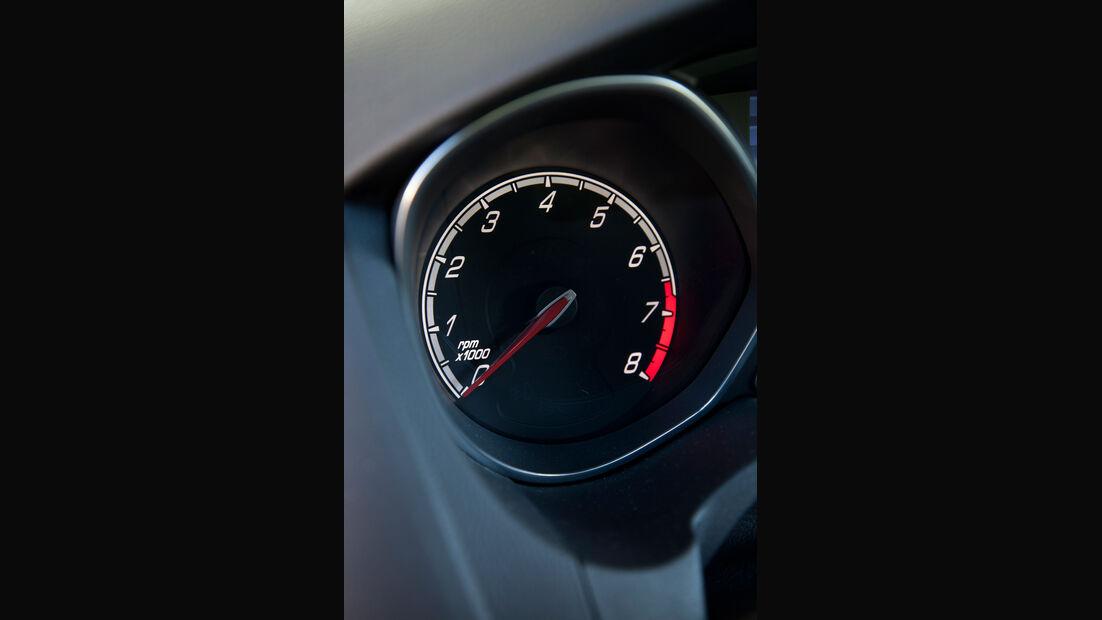 Ford Focus ST, Rundinstrument