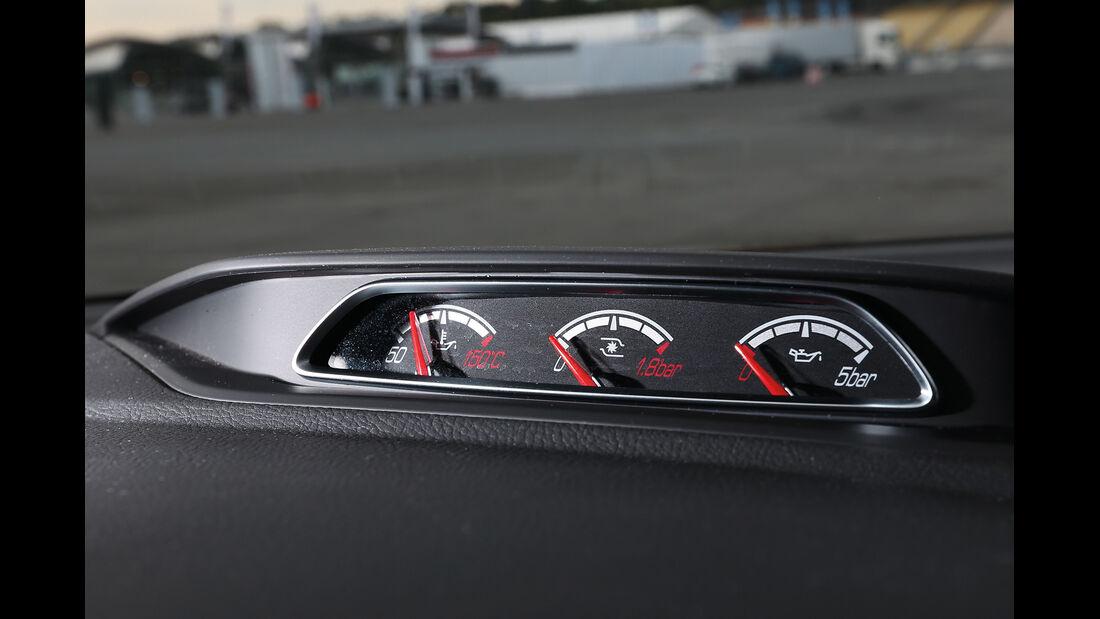 Ford Focus ST, Rundinstrumente