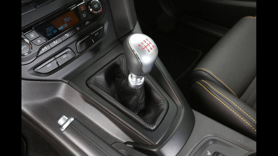 Ford Focus ST, Schalthebel